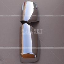 Хром накладки на зеркала АБС-пластик