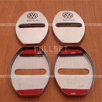 Хромированные накладки на петли дверных замков с эмблемой Volkswagen
