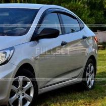 Ветровики Hyundai Accent (2010+)