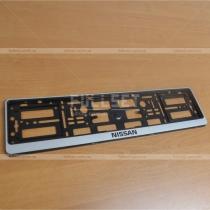 Рамка под номер с надписью Nissan