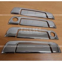 Стальные накладки на дверные ручки из 8 единиц