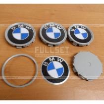 Вставки в колесные диски с логотипом BMW