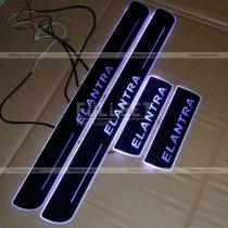 Пороги с подсветкой Hyundai Elantra 2011-...