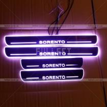 Накладки на пороги Kia Sorento (03-09)