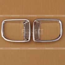 Накладки на противотуманные фары Toyota Land Cruiser 200 (08-...)