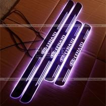 Пороги с подсветкой Kia Cerato (05-09)