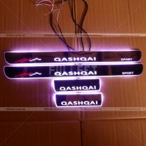 Накладки на пороги Nissan Qashqai (2015-...)