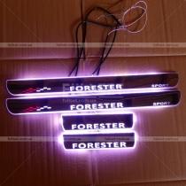 Пороги с подсветкой Subaru Forester (08-12)