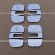Хром-накладки на петли дверных замков (нержавейка)