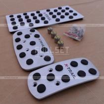 Алюминиевые накладки педалей X-Trail в комплекте с золотниками