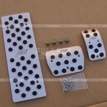 Алюминиевые накладки на педали ABT в комплекте с золотниками