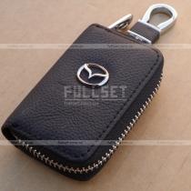 Кожаный чехол для ключей Mazda