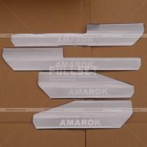 Пороги в салон Volkswagen Amarok (2010-...)
