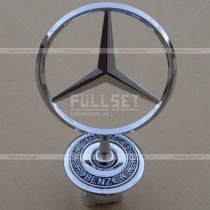 Эмблема (прицел) на капот Mercedes W140 (91-98)