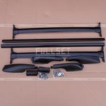Рейлинги на крышу в комплекте с багажными перемычками, цвет-черный