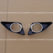Крышки на противотуманки Toyota Corolla (07-09)