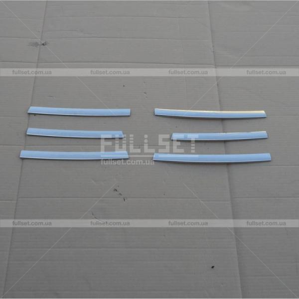 Хром-полоски решетки радиатора