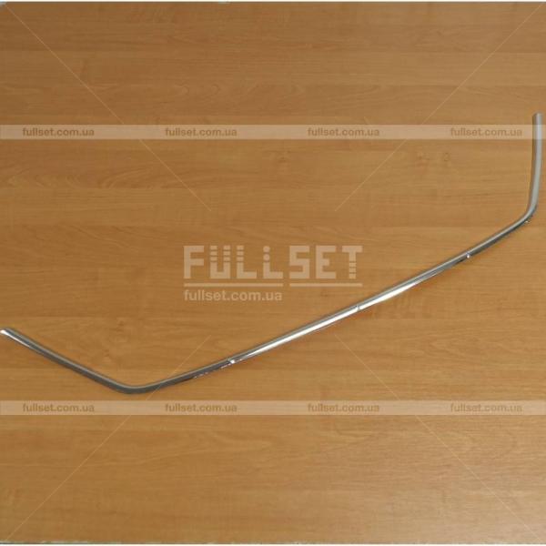 Хром окантовка решетки бампера