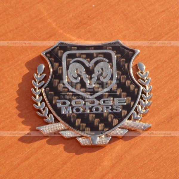 Эмблема герб Dodge