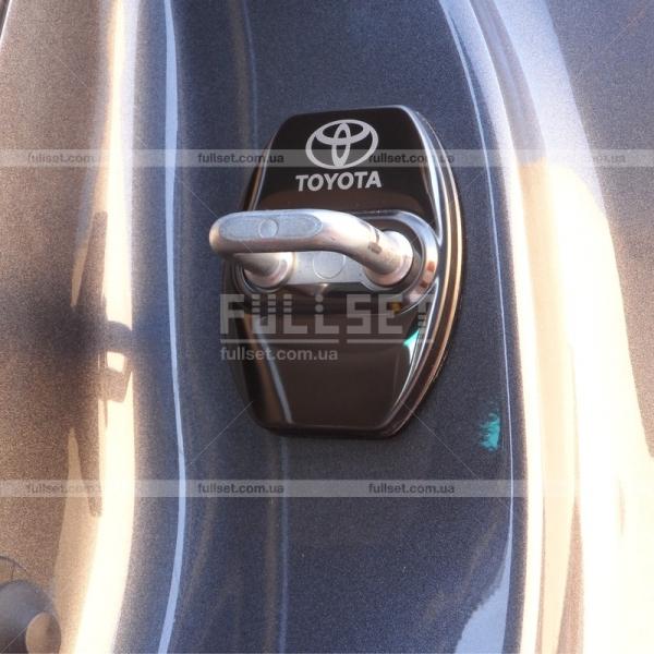 Накладки на дверные навесы Тойота
