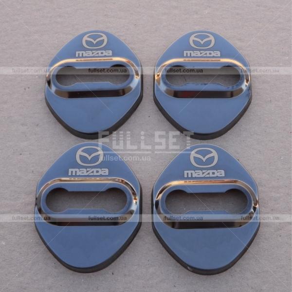 Накладки на дверные навесы Mazda
