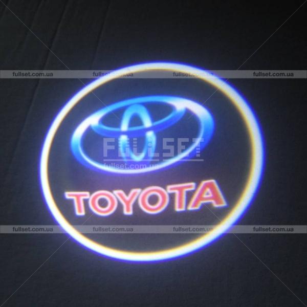 Проектор дверей с эмблемой Тойота