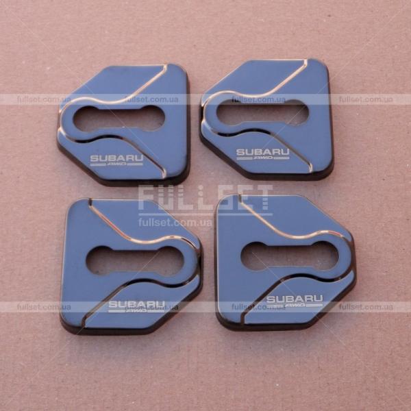 Накладки на дверные навесы Subaru