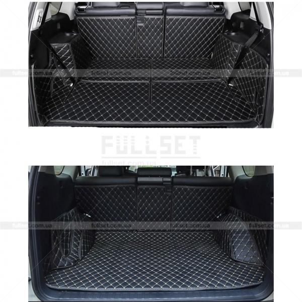 3D коврик в багажник Прадо 150