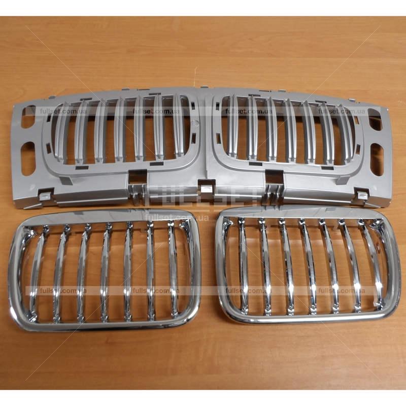 хромированная решетка радиатора на BMW e39